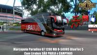 Marcopolo Paradiso G7 1200 MB O-500RS BlueTec 5 Com Lirabus SÃO PAULO x CAMPINAS