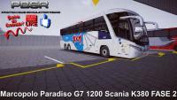 Marcopolo Paradiso G7 1200 Scania K380 FASE 2 Proton Bus Simulator Road