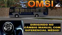 """OMSI 2 – Como dirigir no câmbio manual usando o teclado (diferencial """"médio"""")"""