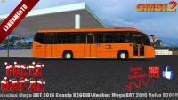 🔴OMSI 2 – Lançamento de Natal!!! Neobus Mega BRT 2016 Scania K360IB\Neobus Mega BRT 2016 Volvo B290R
