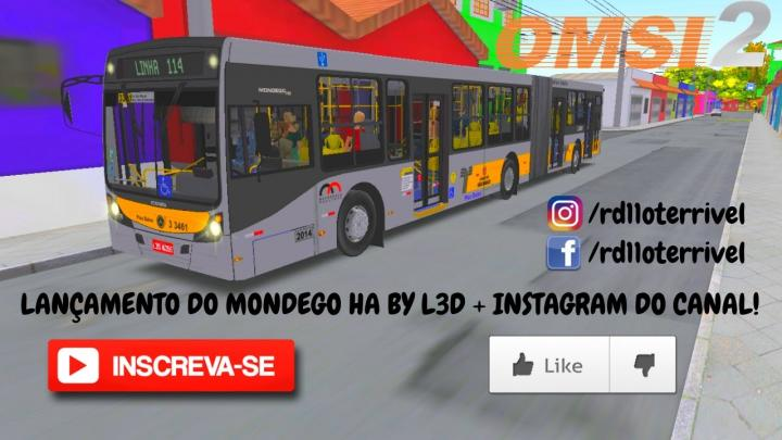 OMSI 2 – Lançamento do Mondego HA O-500UA by L3D + Instagram do canal!