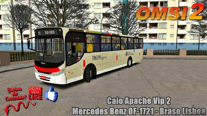 🔴[OMSI 2]Caio Apache Vip 2 Mercedes Benz OF-1721 – Braso Lisboa