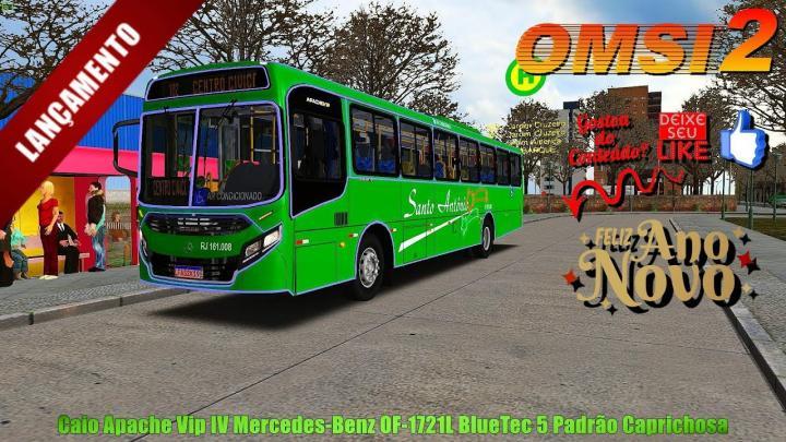 🔴[OMSI 2]Lançamento do Caio Apache Vip IV Mercedes-Benz OF-1721L BlueTec 5 Padrão Caprichosa