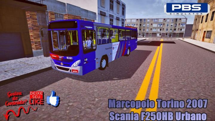🔴Proton Bus Simulator – Marcopolo Torino 2007 Scania F250HB Urbano