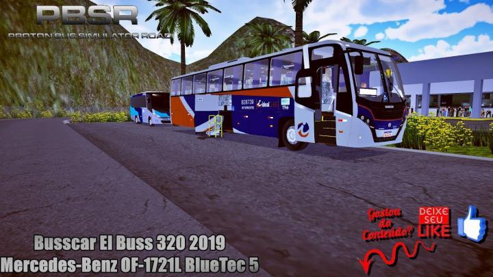 Proton Bus Simulator Road – Busscar El Buss 320 2019 Mercedes-Benz OF-1721L BlueTec 5