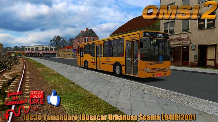 🔴OMSI 2 16C30 Tamandaré (Busscar Urbanuss Scania L94IB)2001