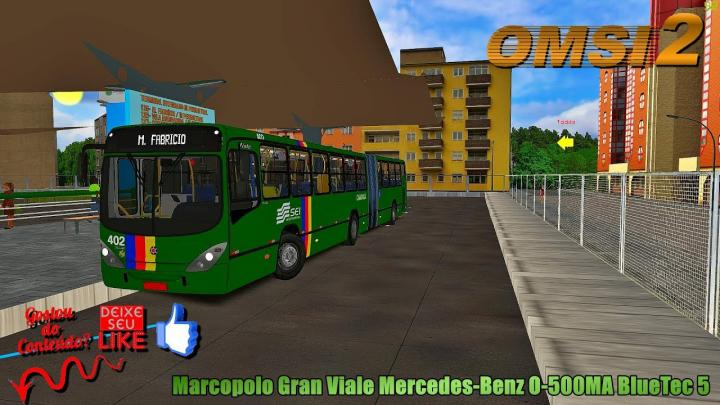 🔴OMSI 2 Marcopolo Gran Viale Mercedes-Benz O-500MA BlueTec 5