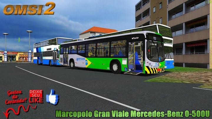 🔴OMSI 2 Marcopolo Gran Viale Mercedes-Benz O-500U
