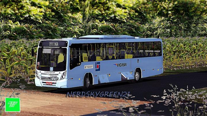 [OMSI 2] VICASA NO METROPOLITANO com Neobus Mega 2006 MB of-1721 Bluetec 5 +G27 | mapa RMBH