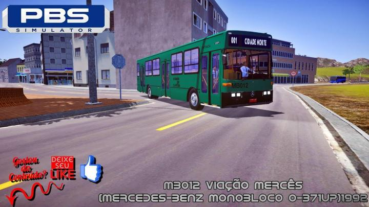 🔴Proton Bus Simulator – MB012 Viação Mercês(Mercedes-Benz Monobloco O-371UP)1992