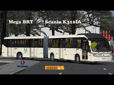 Mostrando um pouco do Mega BRT Scania 6×2