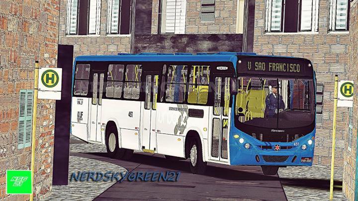 [OMSI 2] CHUVA NA LINHA DA FAVELA – Torino 2007 VW 17.230 EOD +G27 – Viação São Francisco |Juiz Fora