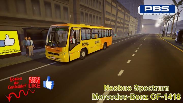 🔴Proton Bus Simulator – Neobus Spectrum Mercedes-Benz OF-1418