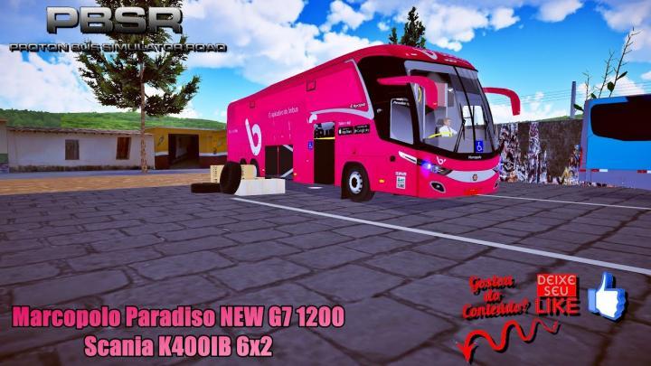 🔴Proton Bus Simulator Road Marcopolo Paradiso NEW G7 1200 Scania K400IB 6×2