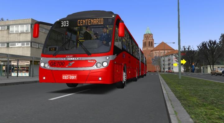 Neobus Mega BRT – Volvo B12M – GE700