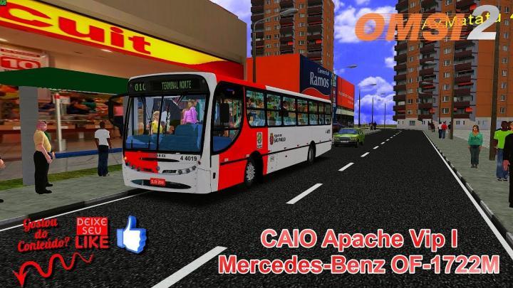 🔴OMSI 2 – CAIO Apache Vip I Mercedes-Benz OF-1722M