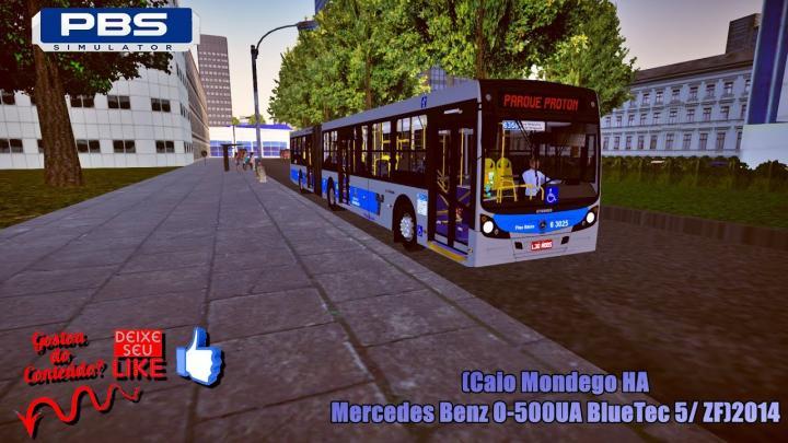 🔴Proton Bus Simulator – (Caio Mondego HA/Mercedes Benz O-500UA BlueTec 5/ ZF)2014