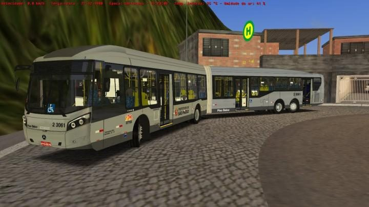 Ronaldo Aguial – Atualização Caio Millennium BRT I e II O500UDA para OMSI