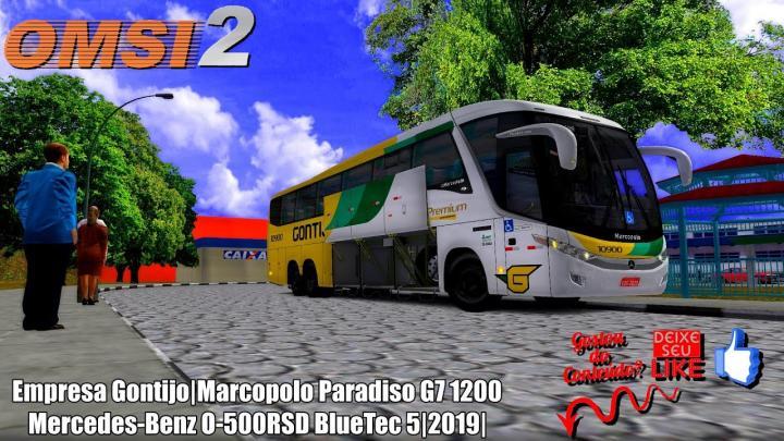Empresa Gontijo|Marcopolo Paradiso G7 1200 Mercedes-Benz O-500RSD BlueTec 5|2019|OMSI 2