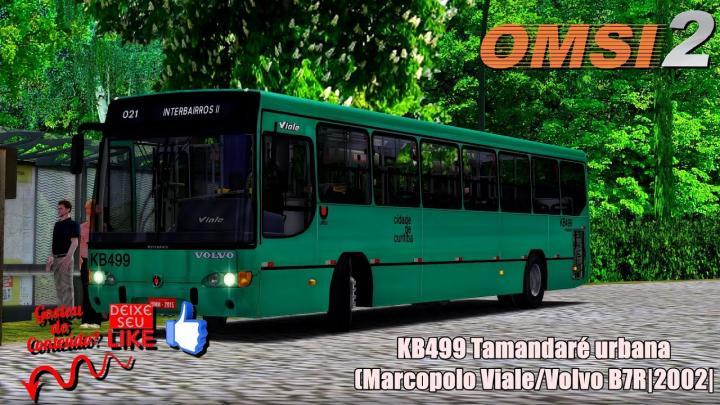 KB499 Tamandaré urbana(Marcopolo Viale/Volvo B7R|2002|OMSI 2