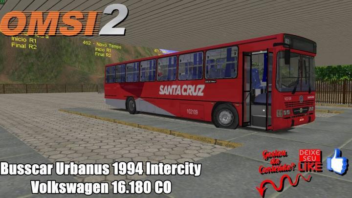 🔴OMSI 2 – Busscar Urbanus 1994 Intercity Volkswagen 16.180 CO