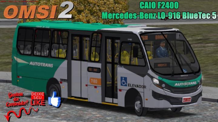 🔴OMSI 2 – CAIO F2400 Mercedes-Benz LO-916 BlueTec 5
