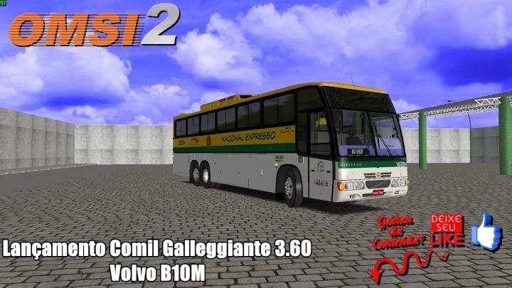 🔴OMSI 2 – Lançamento Comil Galleggiante 3.60 Volvo B10M