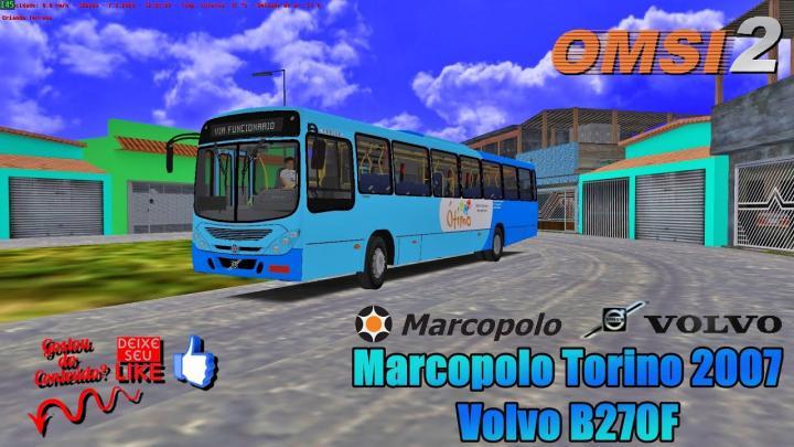 🔴OMSI 2 – Marcopolo Torino 2007 Volvo B270F