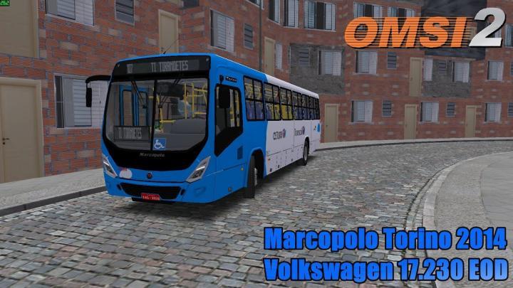 🔴OMSI 2 – Marcopolo Torino 2014 Volkswagen 17.230 EOD