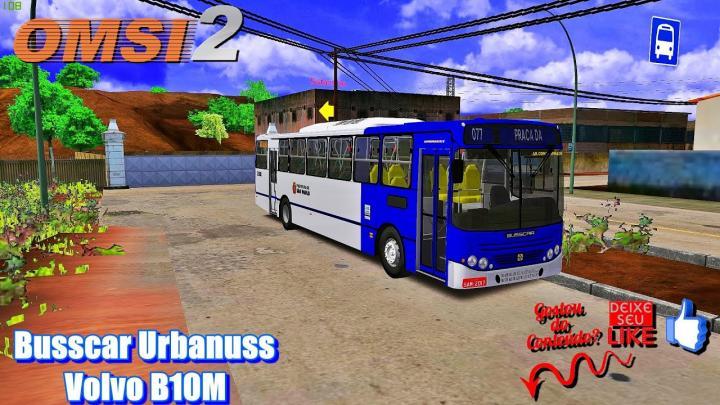 🔴Busscar Urbanuss Volvo B10M – OMSI 2