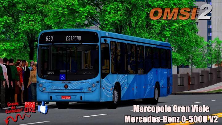 Marcopolo Gran Viale Mercedes-Benz O-500U V2|OMSI 2