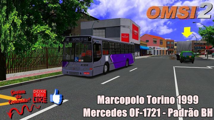 Marcopolo Torino 1999 Mercedes OF-1721 – Padrão BH|OMSI 2