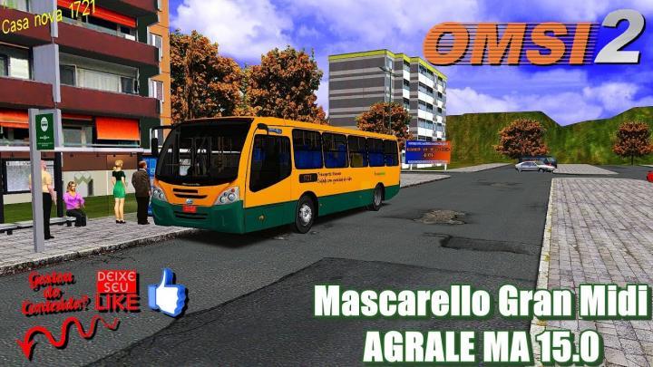 🔴Mascarello Gran Midi AGRALE MA 15.0 – OMSI 2