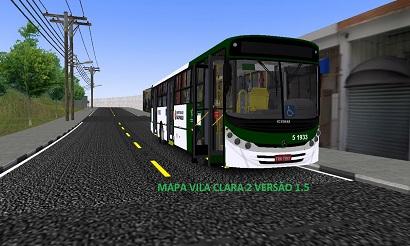 Mapa Vila Clara 2 versão 1.5