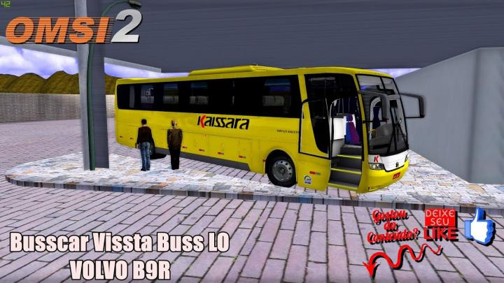 Busscar Vissta Buss LO VOLVO B9R|OMSI 2