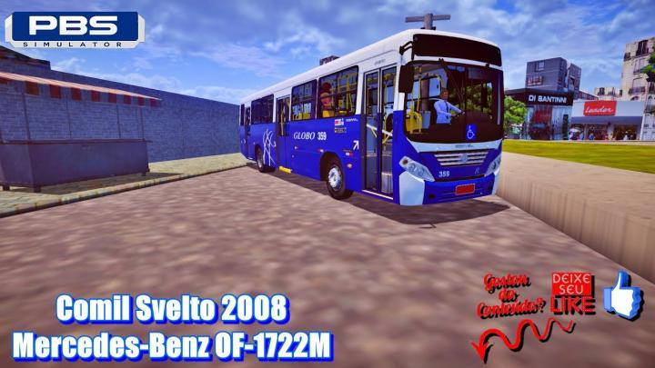 🔴Comil Svelto 2008 Mercedes-Benz OF-1722M – Proton Bus Simulator