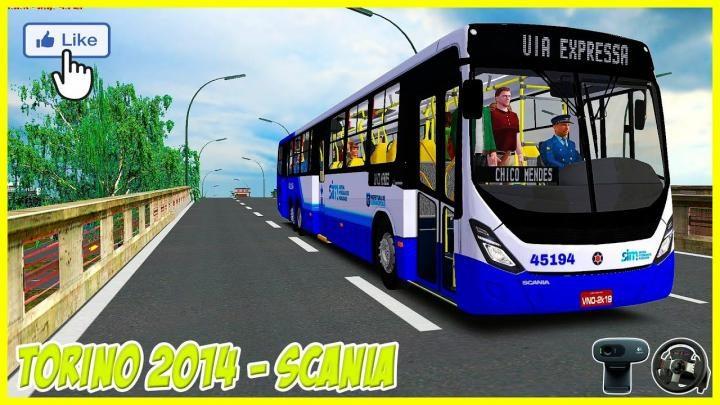 Lançamento do Torino 2014 6×2 Scania K310 IB para OMSI 2