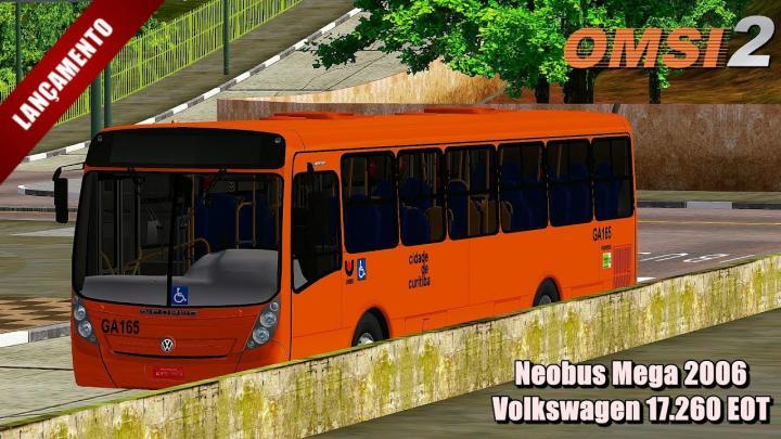 🔴Lançamento Neobus Mega 2006 Volkswagen 17.260 EOT OMSI 2