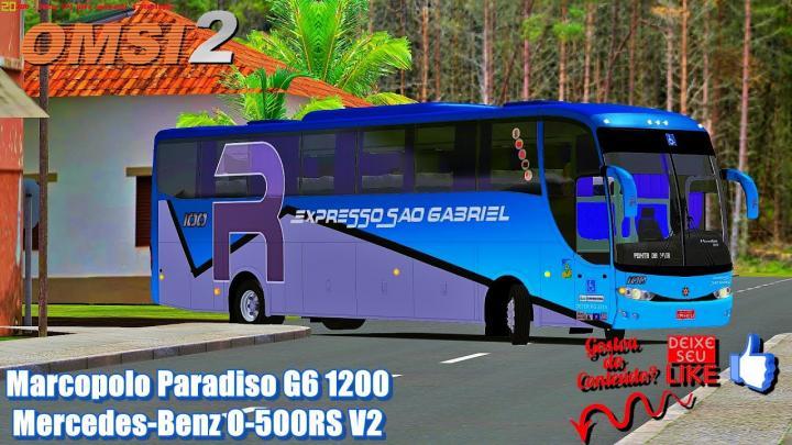 Marcopolo Paradiso G6 1200 Mercedes-Benz O-500RS V2