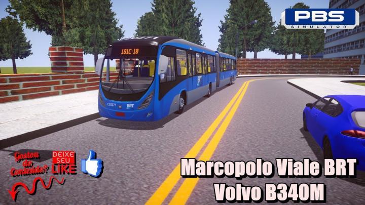🔴Marcopolo Viale BRT Volvo B340M Deu Ruim – Proton Bus Simulator