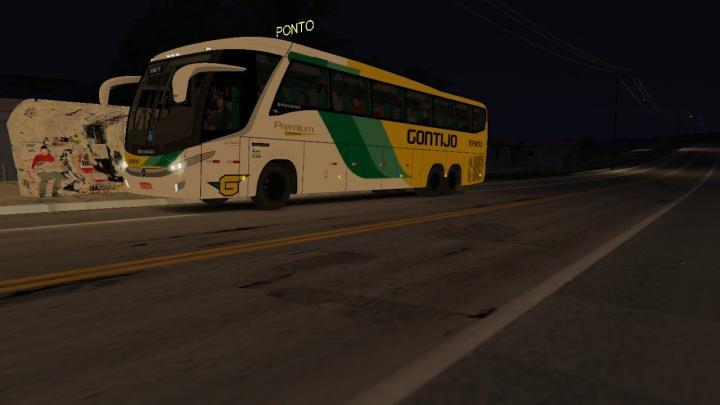 OMSI2 – Viagem com o Busscar vissta bus o500 RSD no mapa Rodoviario BR099 – G27