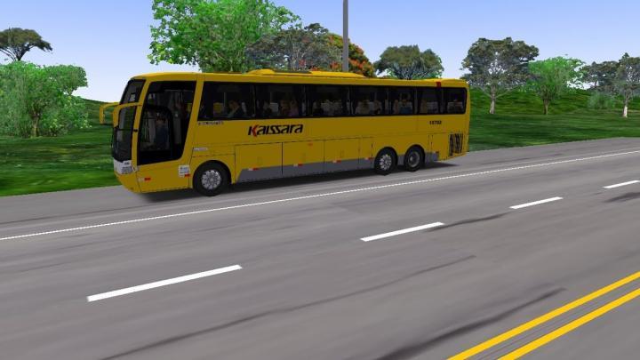 VIAGEM COM O BUSSCAR VISTA BUS MERCEDES O500 NO MAPA BR099 – G27