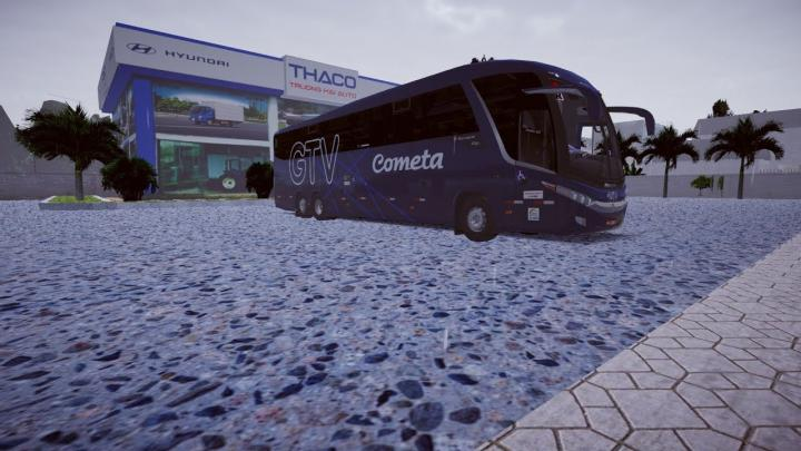 Marcopolo Paradiso G7 1200 MB O-500RSD Bluetec5 Fase 2 + MAPA Vietnam Map – Proton Bus Simulator