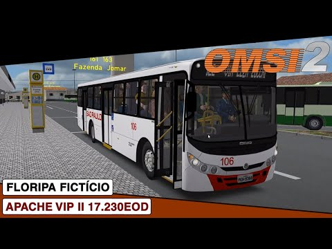 OMSI 2 || Caio Apache Vip II Volkswagen 17.230EOD || Floripa Ficticio Linha 322