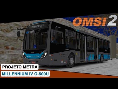 OMSI 2 || Caio Millennium IV Mercedes-Benz O-500U || Projeto Metra Linha 285
