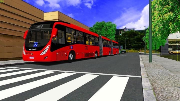 BE729 – Transporte Coletivo Glória|Marcopolo Viale BRT Volvo B340M|2020|OMSI 2|