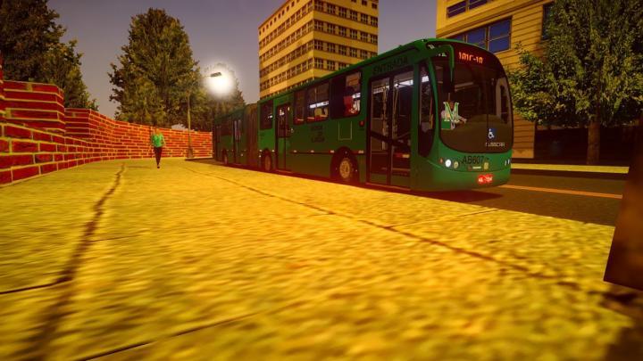 Busscar Urbanuss Pluss Articulado Scania K310IB Padrão Curitiba – Fase 1 – Proton Bus Simulator U/R