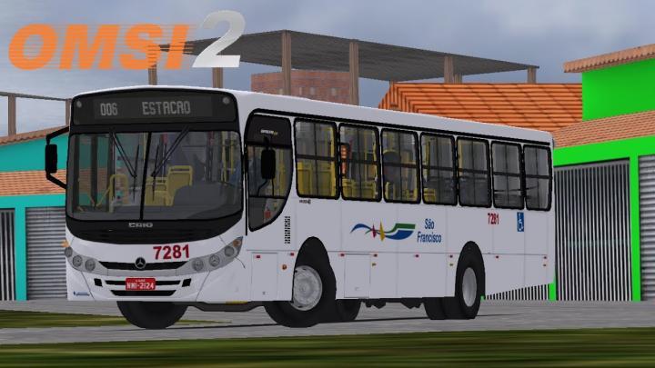 OMSI 2 – CAIO APACHE VIP II MB OF-1722M | MINAS VALE URBANO V2| LINE 006 RETIRO / ESTAÇÃO CENTRAL