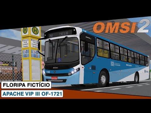 OMSI 2 || Caio Apache Vip III Mercedes-Benz OF-1721 || Floripa Ficticio Linha 242