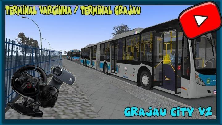 [OMSI 2] – MAPA GRAJAU CITY 2 – LINHA 6003 VARGINHA/GRAJAÚ – SG29